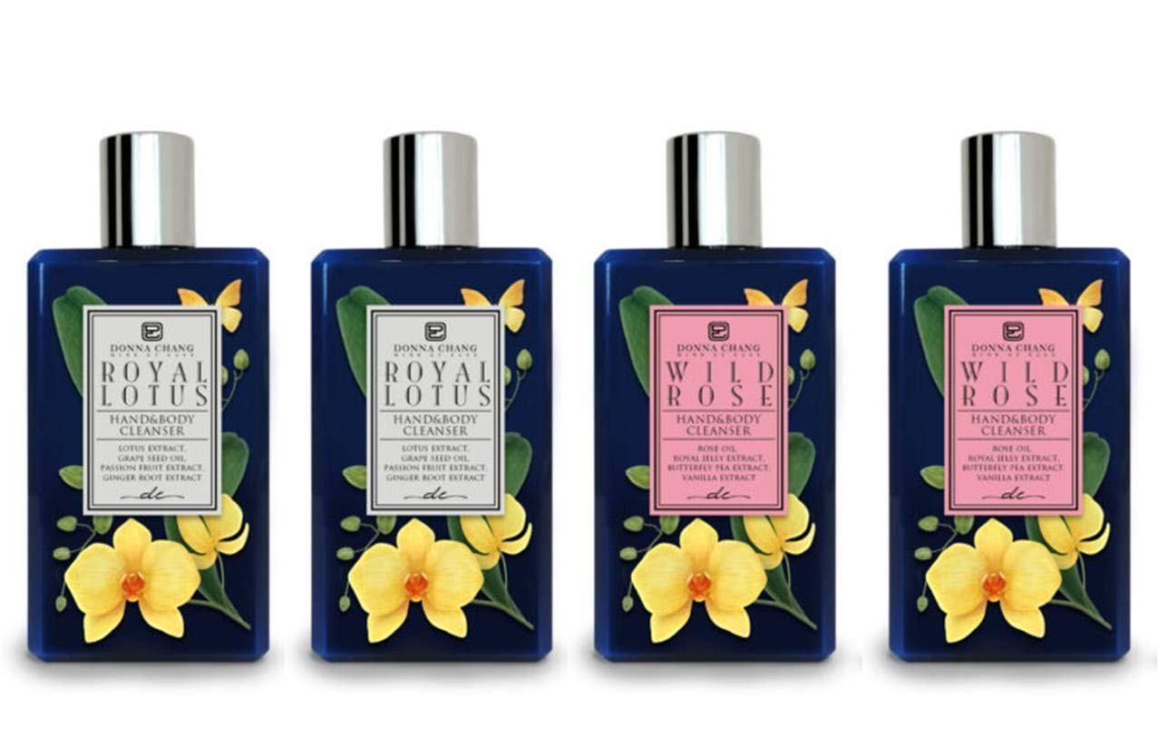 Donna Chang Royal Lotus and Wild Shower Product Rose - B. Set Gel Outlet ☆ Free Shipping