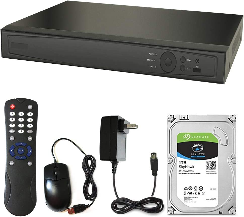 Gawker 8 Channel DVR with 1Tb Seagate P Hard New mail order Kit. sold out 1080 Drive HD-