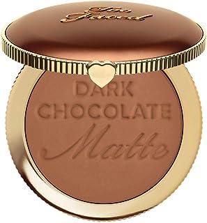 Too Faced Dark Chocolate Soleil Deep/Tan Matte Bronzer