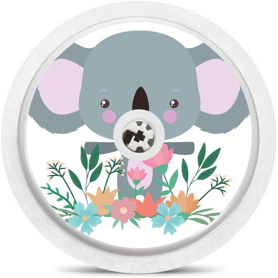 Freestyle Libre Stickers Baby Animals Set of 6 Sensor Stickers /& Reader Sticker