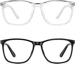 Blue Light Blocking Glasses Women/Men, PengSer Fashion Lightweight Frame Computer Eye Glasses Anti Eyestrain & UV Glare fo...