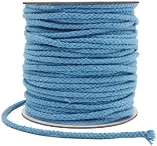 Tenn Well 5mm Macrame Cord 165Feet Braided Cotton Macrame Rope for Plant Hangers Wall Hangings Dream Catchers DIY Crafts (...