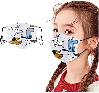Padaleks Children Kids Washable Reusable Cotton Face Madk for Holiday Festival Madks Outdoor Windproof Dust Protection