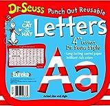 Eureka Back to School Dr. Seuss ABC Letter Cutouts, 200pc, 4'' x 4'' inches (487215)