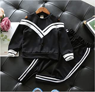 ALIYOUR Long Sleeve Girls Spring Clothes Suits Top and Skirt Kids 2Pcs Sport Suit for Girl Tracksuits