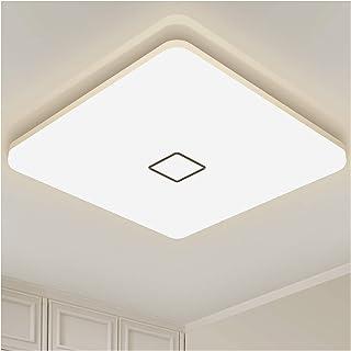 Plafonnier LED Luminaire Salle de Bain Öuesen Lampe Plafond 24W 2050LM IP44 4000K Blanc Naturel Brillant Moderne Plafonnie...