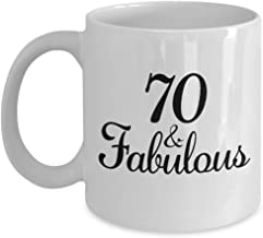 70th Birthday Gifts Ideas for Women - Gifts for 70 Year Old Woman - 1948 Birthday Funny Gag Coffee Mug - 1948 Anniversary Cup for Mom, Mother, Aunt