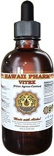 Vitex Liquid Extract, Organic Vitex (Vitex Agnus-Castus) Tincture 4 oz by HawaiiPharm