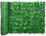 TREEECFCST Seto Artificial Vallas Decorativas Valla de Hojas de jardín, Hojas de simulación, Pared, Hoja de Hiedra Artificial, Cobertura de Cobertura, Valla de jardín, balcón, privacidad Artificia