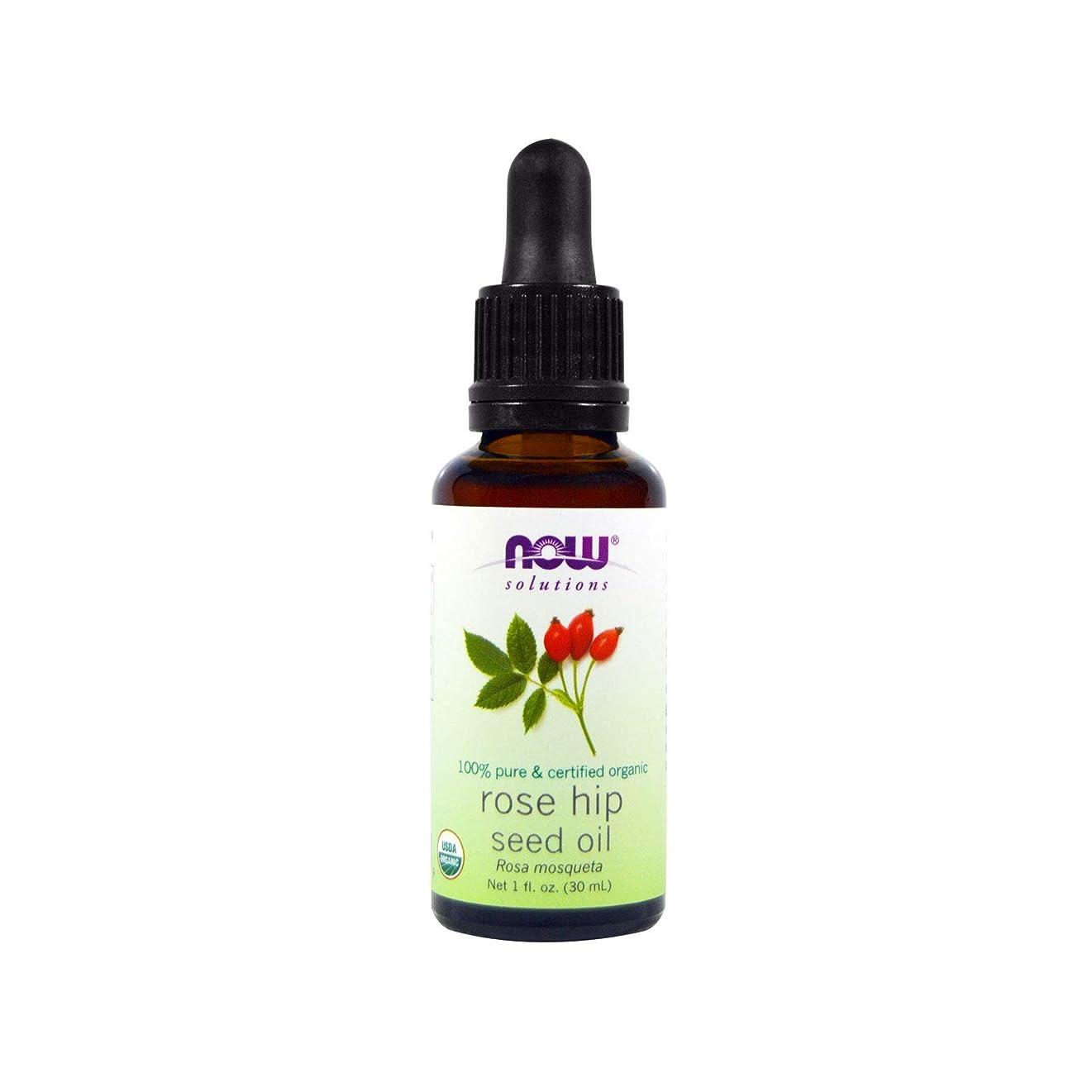 数学的な成長する振動するCertified Organic Rose Hip Seed Oil, 1 fl oz (30 ml) 海外直送品