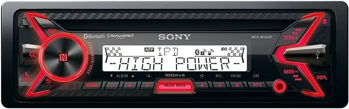 Sony MEX-M100BT 160W RMS Marine CD Receiver with Bluetooth USB (Certified Refurbished)