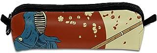 ペンケース ペンポーチ 日本 剣道 和風 男子 女子 おしゃれ かわいい 大容量 ポリエステル 筆箱 化粧ポーチ 収納 小物入れ 中学生 シンプル オフィス用 個性 筆箱 高校生 BOLACO