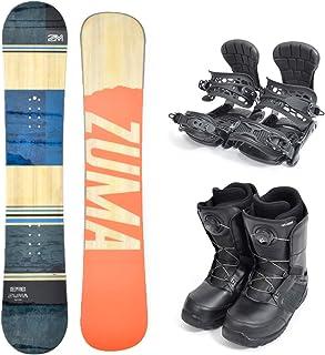 ZUMA (ツマ) メンズ スノーボード メンズ 3点セット 板 ボード バインディング ブーツ DEEPFRIED 初心者 zuma-set-g