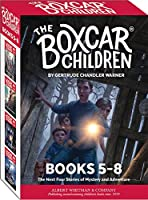 The Boxcar Children Mysteries Boxed Set 5-8: Mike's Mystery, Blue Bay Mystery, the Woodshed Mystery, & the Lighthouse Mystery