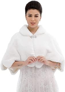 Best bridal faux fur capelet Reviews