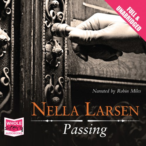 Passing audiobook cover art