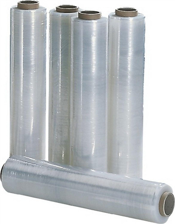 Stretchfolie 17µm B.500mm L.300m transparent, 6 St. B00VWN0D1A | Für Ihre Wahl