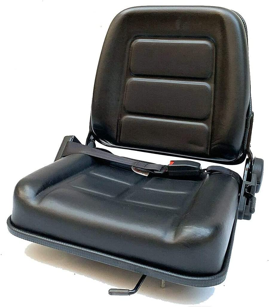 YILIKISS Seattle Mall Universal Forklift Seat Retractable Louisville-Jefferson County Mall Waterproof PVC with