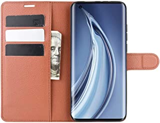 Wuzixi Case for LG Q92 5G. Anti-Scratch, Flip Case Side suction Kickstand Feature Card Slots Case, PU Leather Folio Cover ...