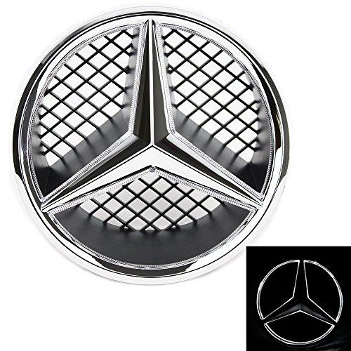 JetStyle Emblem 2005-2013 Kühlergrill, Auto Beleuchtetes Zeichen, Leuchtende Stern, Tagfahrlicht Weiß - Fahren Sie heller & schlauer