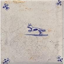 CafePress - Running Fox Tile: - Tile Coaster, Drink Coaster, Small Trivet