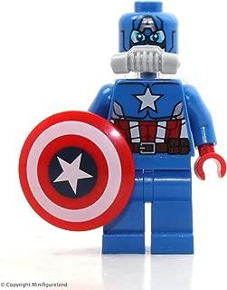 LEGO Super Heroes: Avengers Minifigure - Space Captain America (No Pack) 76049