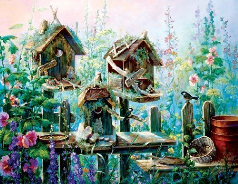 Birdhouse Row by SunsOut
