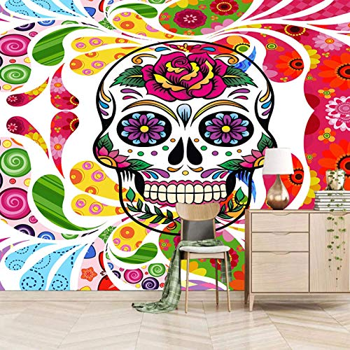 3d wall mural wallpaper galaxy star Wallpaper Mural Photo Children Room Poster DIY Decoration 200x150cm Colorful flower cartoon skull Self Adhesive Paper Peel and Stick Removable Photo Wallpaper Mural