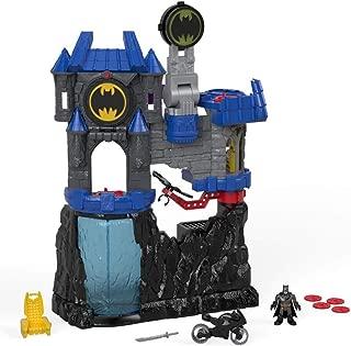 imaginext wayne manor batcave