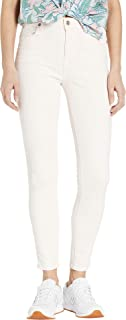 7 for All Mankind Women's High Waist Ankle Skinny in Pink Sunrise