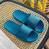 LNLJ Zapatos de Masaje para los Pies, Antideslizantes, Sandalias de Masaje y Zapatillas para Hombre Eva-Navy_36-37, Calzado de Salud para la Salud