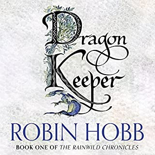 Dragon Keeper audiobook cover art