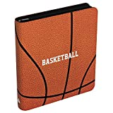 Rayvol Premium 9-Pocket Basketball Card Binder for Trading Cards, Fit 720 Cards with 40 Sleeves Included, 3 D-Ring Album for Card Collection Storage