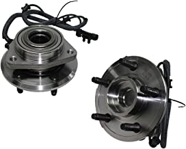 Detroit Axle Both (2) New Front Driver & Passenger Side Complete Wheel Hub and Bearing Assembly fits 2007-2011 Dodge Nitro - [2008-2012 Jeep Liberty]