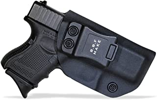 B.B.F Make IWB KYDEX Holster Fit: Glock 26 27 33 (Gen 1-5) | Retired Navy Owned Company | Inside Waistband | Adjustable Cant | US KYDEX Made