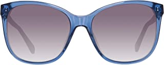 Fossil Women's Sunglasses FOS 2047/S 550E2BD, Blue, 55 mm