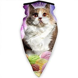 Unisex Ice Cream Cat Princess Kitty Neck Winter Outdoor Windproof Mask