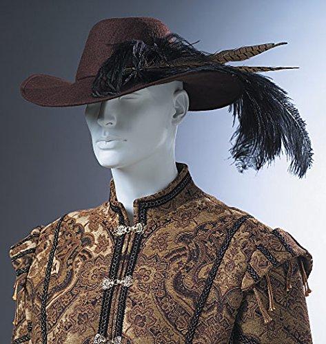McCalls Cosplay Herren Schnittmuster 2009 historische Mittelalter- und Renaissance-Hüte und Kapuze
