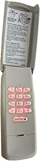 Keypad Keyless Entry for Liftmaster Garage Door Opener 377LM 139.53754 (315mhz Purple Learn Button)