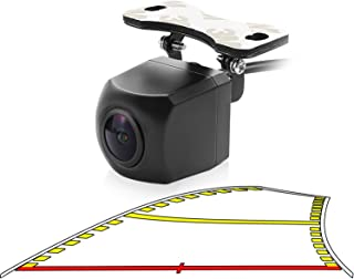 $39 » Car Trajectory Backup Camera with Dynamic Moving Guide Line, GreenYi-84 Rear View Reverse Camera with Extra License Plate ...