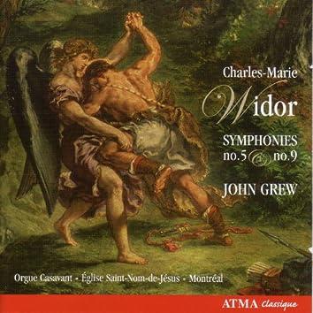 Widor, Charles-Marie: Symphony No. 5 and No. 9