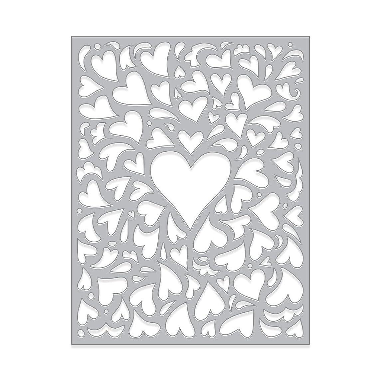 Hero Arts DI483 Fancy Die, Window On Love Confetti