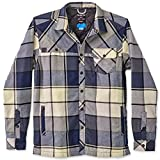 KAVU Men's Stewart Athletic Sweaters, Large, Midnight