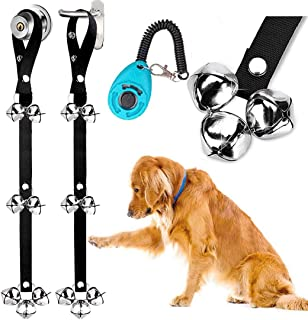 2 Pack Dog Doorbells Premium Quality Training Potty Great Dog Bells Adjustable Door Bell Dog Bells for Potty Training Your...
