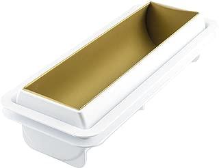 Silikomart 8051085260058 3D Mold Frozen Bache Cake Pan, Gray