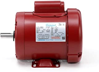 Leeson Farm Duty Electric Motor - 1/2 HP, 1,725 RPM, 115/208-230 Volts, Single Phase, Model Number M6C17FB11
