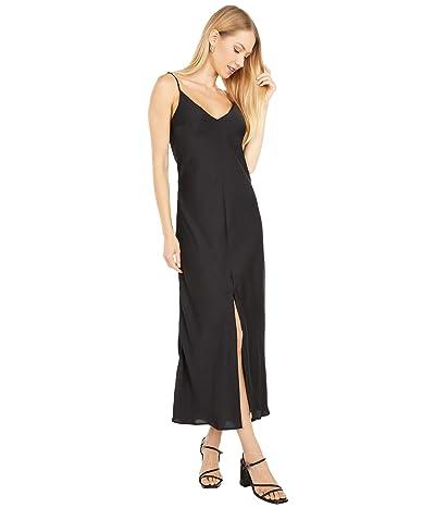 Free People Smoke Mirrors Maxi Slip Dress (Black) Women
