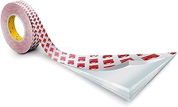 3M Dubbelzijdig plakband 9088-200 transparant 19 mm x 50 m – universeel inzetbare bevestigingsband voor vele hoog- en laag...