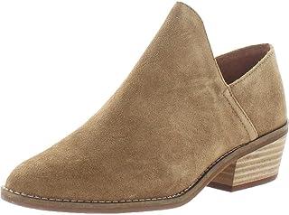 حذاء نسائي بكعب مرصوص من Lucky Brand باللون البيج مقاس 9