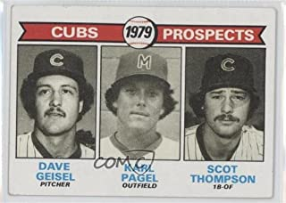 Dave Geisel; Karl Pagel; Scot Thompson COMC REVIEWED Good to VG-EX (Baseball Card) 1979 Topps #716
